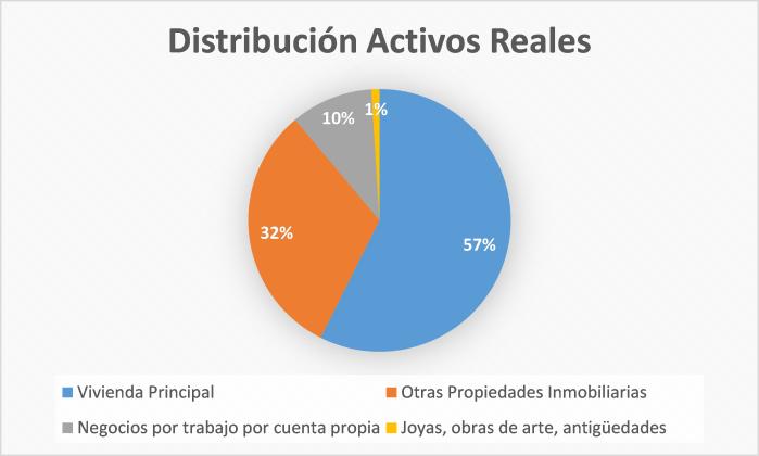 Grafico Distribución Activos Reales