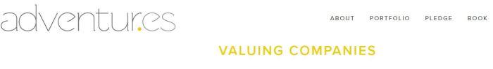 Valorando empresas