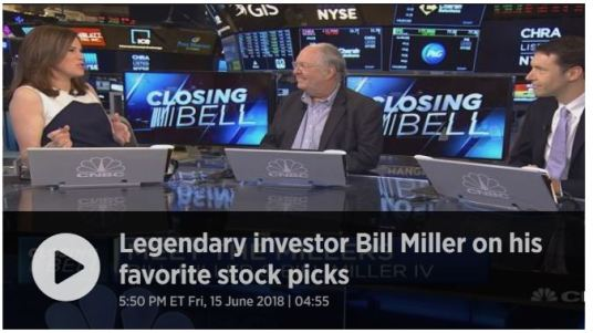 Legendary investor Bill Miller