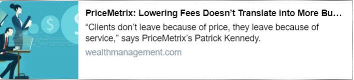 Lowering Fees