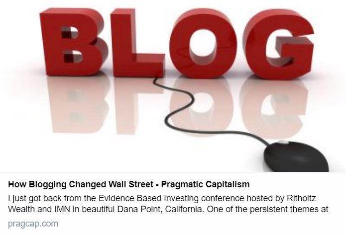 How blogging