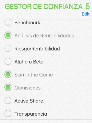 checklist iphone